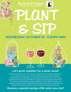Plant & Sip w/ Raymour & Flanigan & PlantNite @ Raymour & Flanigan   Waterbury Showroom